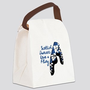Love A Fling Canvas Lunch Bag