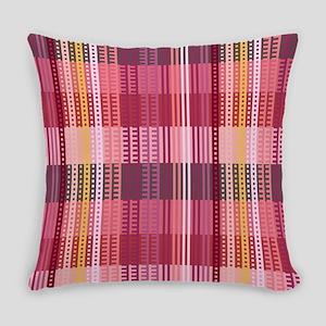 Tartan Red Everyday Pillow