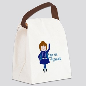 Take The Highland Canvas Lunch Bag