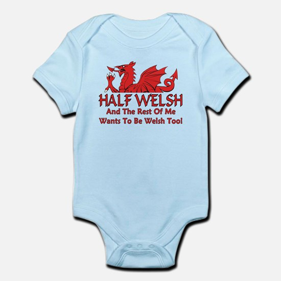 ...Half Welsh... Body Suit