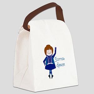 Scottish Dancer Canvas Lunch Bag