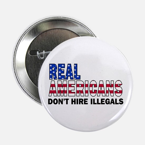 "Real Americans 2.25"" Button"