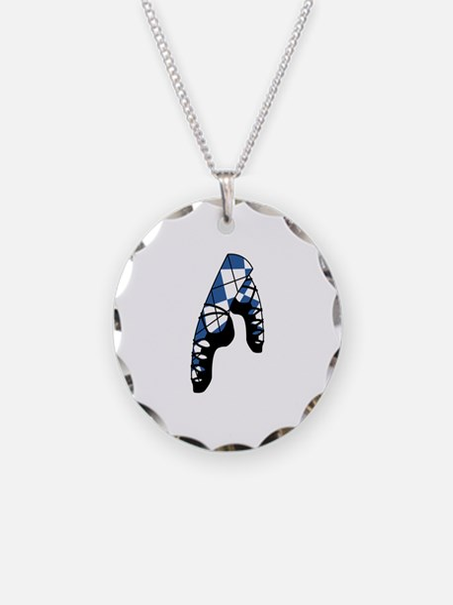Scottish Dance Shoes Necklace