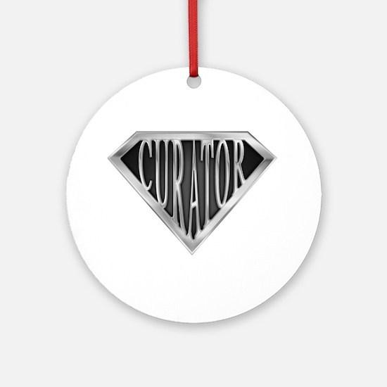 SuperCurator(metal) Ornament (Round)