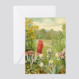 Vintage Flowers Decorative Greeting Cards