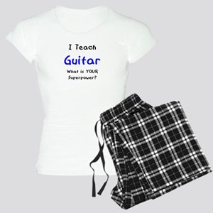 teach guitar Women's Light Pajamas