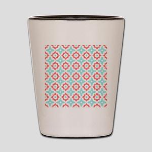 Moroccan Tile Pattern Shot Glass