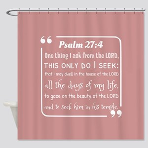 bible verses about faith and hope P Shower Curtain