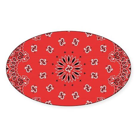 Oval Red 253612607 CafePress BUBBA Oval Sticker Sticker