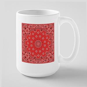 Red Bandana Mugs