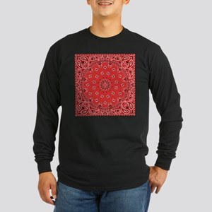 Red Bandana Long Sleeve T-Shirt