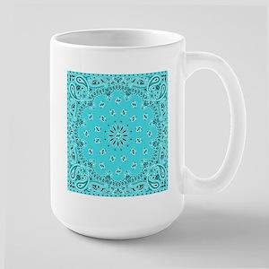 Turquoise Bandana Mugs