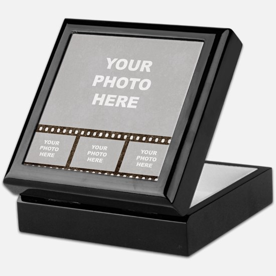 Custom Vintage Film Strip Keepsake Box