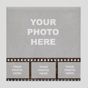 Custom Vintage Film Strip Tile Coaster