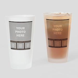 Custom Vintage Film Strip Drinking Glass