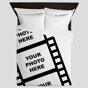 Custom Film Strip Queen Duvet