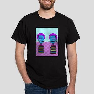 ff Ret Librarian Bird 2 T-Shirt