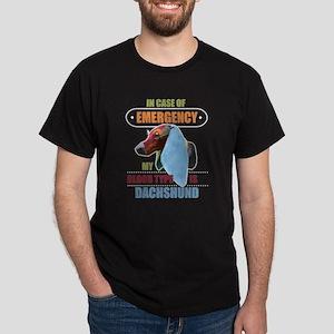My Blood Type Is Dachshund T Shirt T-Shirt