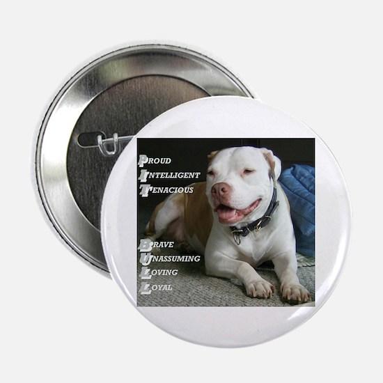 """Unique Pittie 2.25"""" Button (100 pack)"""