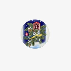 Season Greetings Mini Button