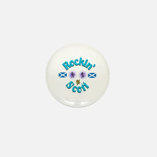 Rockin' Scott. Mini Button