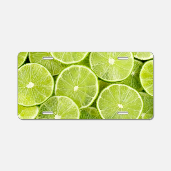 Cool Fruit Aluminum License Plate