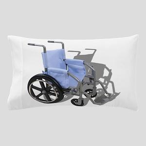 WheelchairBlueSeat073110 Pillow Case
