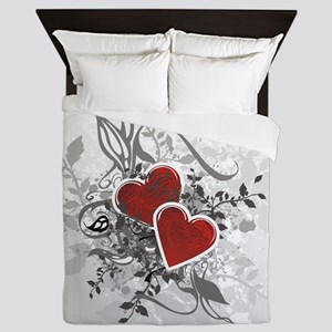 Valentine Hearts Queen Duvet