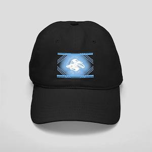 Sky Blue Football Soccer Baseball Hat