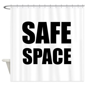 Safe Space Shower Curtains
