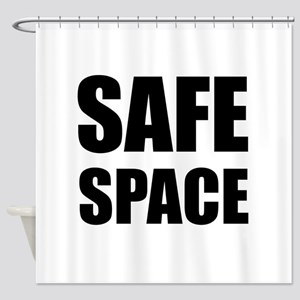Safe Space Shower Curtain