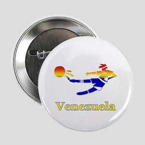 """Venezuela Soccer Player 2.25"""" Button (10 pack)"""