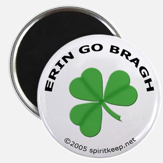 """Erin Go Bragh! 2.25"""" Magnet (10 pack)"""