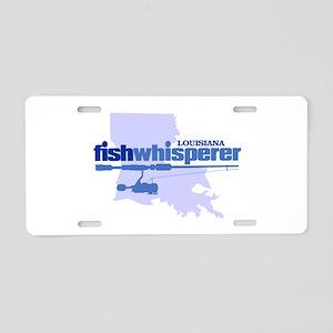 fw Louisiana Aluminum License Plate