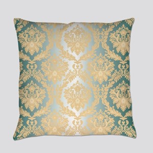 Elegant Damask Design Everyday Pillow