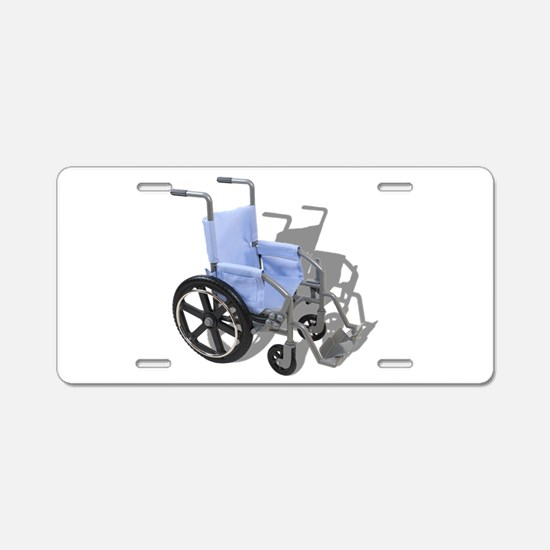 WheelchairBlueSeat073110.pn Aluminum License Plate
