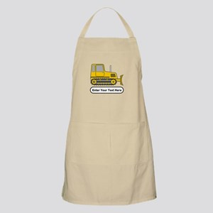 Personalized Bulldozer Apron