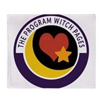 Program Witch Pages Throw Blanket
