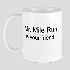 Mr. Mile Run Mugs