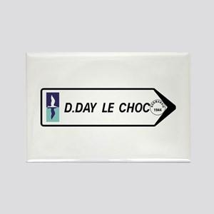 D-Day The Clash, France Rectangle Magnet