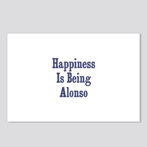 Happiness is being Alonso Postcards (Package of 8)