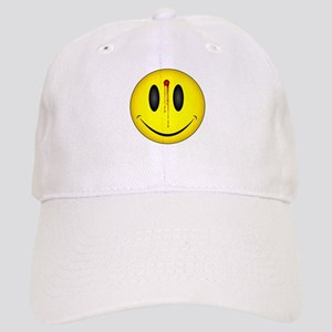 Bloody Happy Face Cap