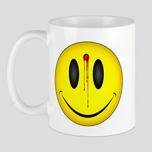 Bloody Happy Face Mug
