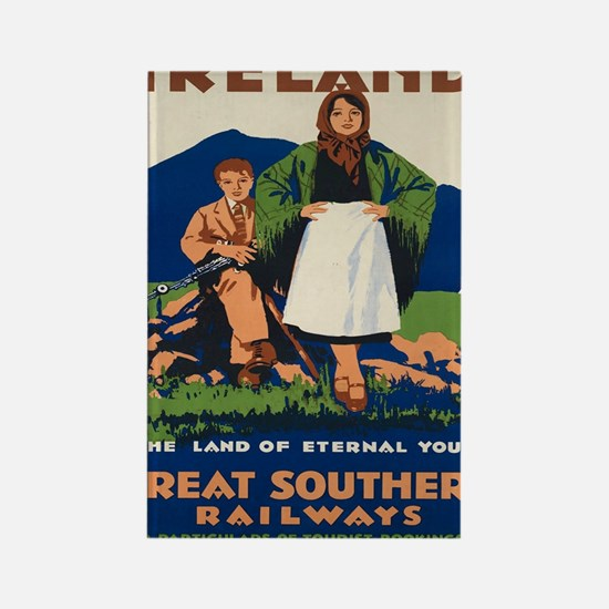 Cute Southern railway Rectangle Magnet