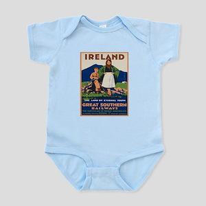 Vintage poster - Ireland Body Suit