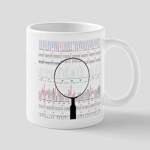 DNA analysis Stainless Steel Travel Mugs