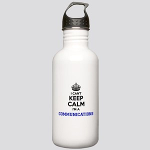 Communications I cant Stainless Water Bottle 1.0L