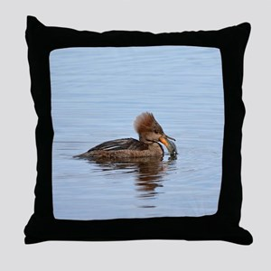 Female Hoodei With A Sunfish Throw Pillow