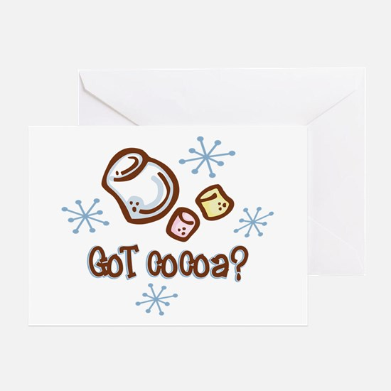 Got Cocoa Greeting Card