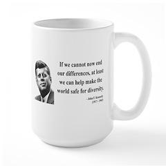 John F. Kennedy 4 Large Mug